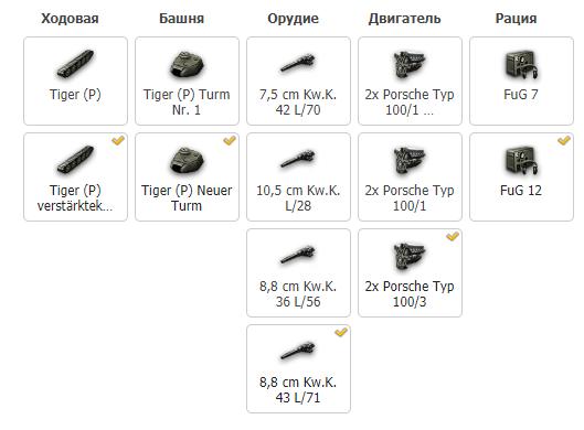 Исследование танка Tiger P в World of Tanks