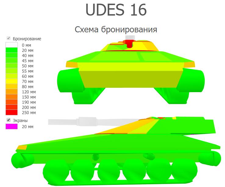 UDES 16