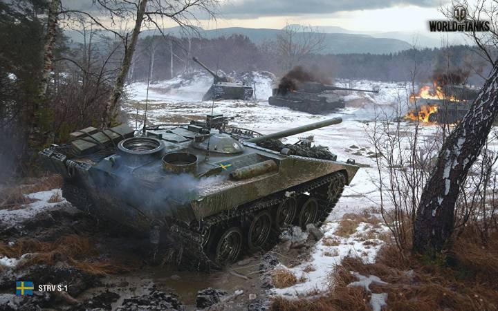 Обои из игры World of Tanks на рабочий стол