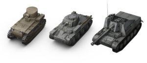 Нагибающие танки в WoT (часть 1)