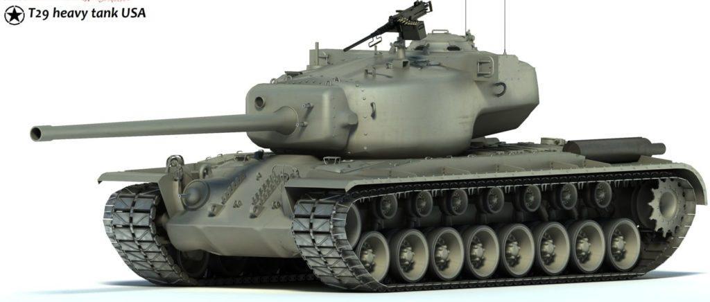 Американский T29 (ТТ-7,США)